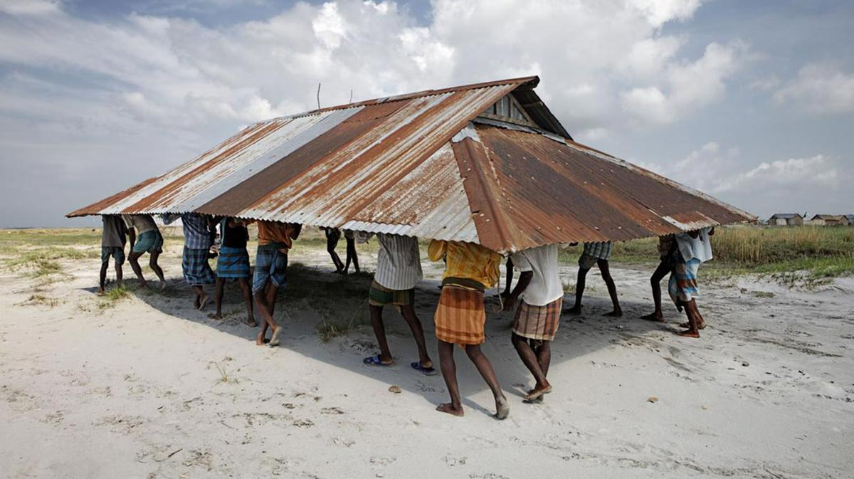 mobile mosque in Bangladesh
